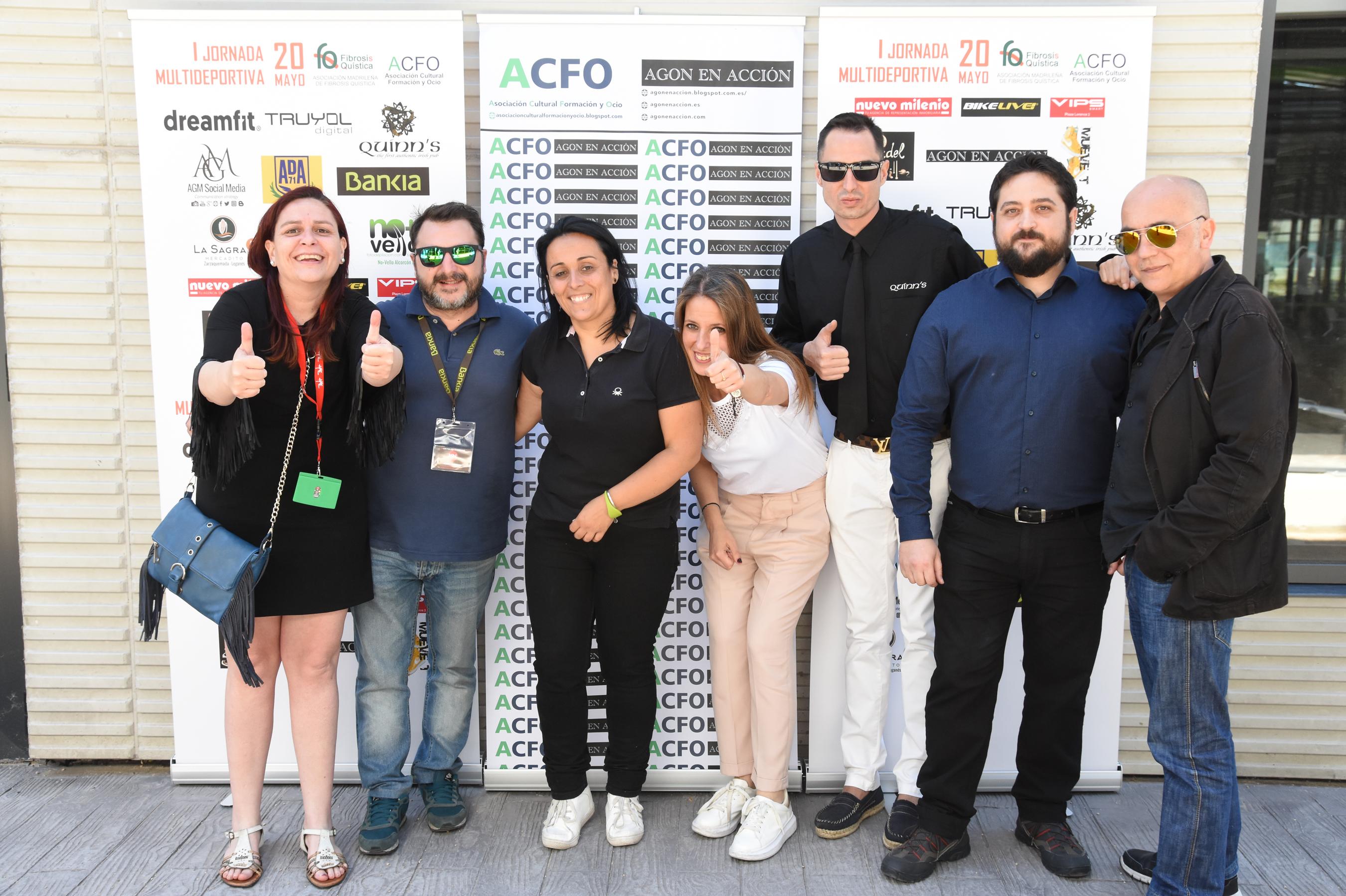 Reportaje de evento sobre fibrosis quística en Alcorcón