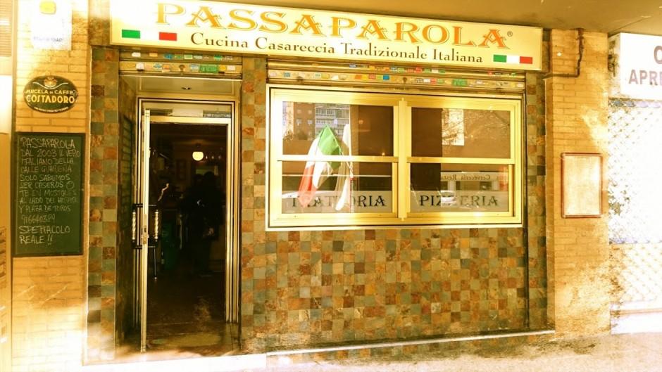 Passaparola: restaurantes italianos zona aluche, comida italiana en aluche